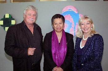 Cheryl Stephens, Tina Besley, Michael Peters