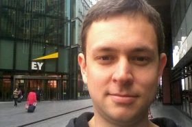 University of Waikato graduate Stuart Barrass is a Management Consultant for Ernst & Young (EY) in London.