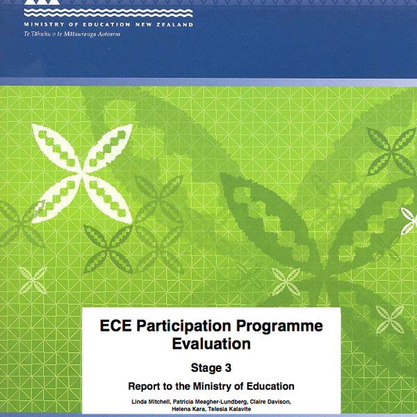 National evaluation: Early Childhood Education Promoting Participation